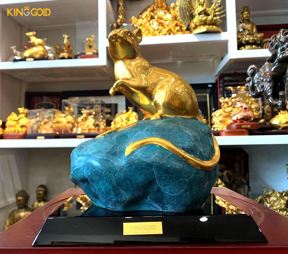 Chuột mạ vàng – Quà tặng phong thuỷ
