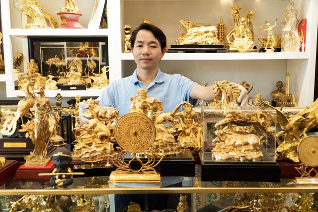 Địa chỉ cung cấp quà tặng mạ vàng cao cấp tại Hà Nội
